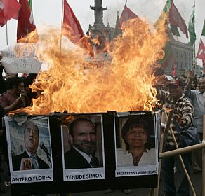 APTOPIX Peru Protests